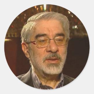 Mousavi gifts classic round sticker
