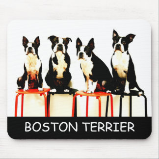 Mouse (3), BOSTON TERRIER Mouse Pad