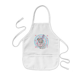 Mouse 3rd Birthday T-shirts and Gifts Kids' Apron