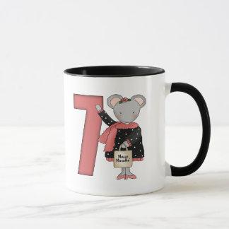 Mouse 7th Birthday Gifts Mug
