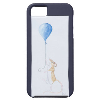 Mouse and Balloon, Watercolour Painting - iPhone 5 iPhone SE/5/5s Case