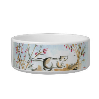Mouse and Berries Pet Bowl