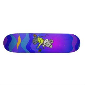 Mouse and Butterfly Skate Deck