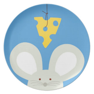 Mouse and Cheese Plates