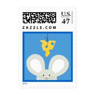 Mouse and Cheese Postage