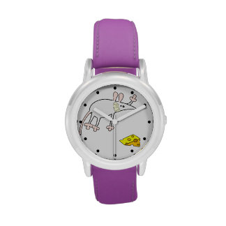 Mouse and Cheese Watches