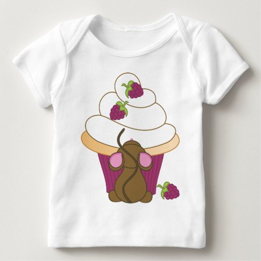 Mouse and Cupcake Baby T-Shirt