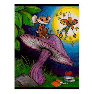 Mouse and Fairy Postcard