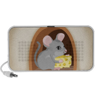 Mouse and mouse hole mini speakers