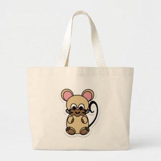 mouse jumbo tote bag