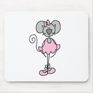 Mouse Ballerina Four Mousepad