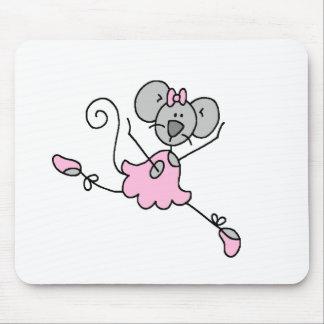 Mouse Ballerina One Mousepad