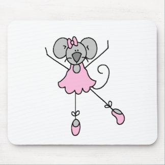 Mouse Ballerina Three Mousepad