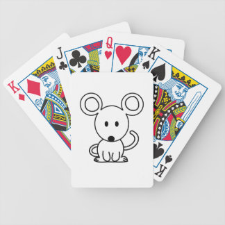 Mouse Bicycle Playing Cards
