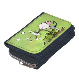 Mouse Blowing on Dandelion Wallet