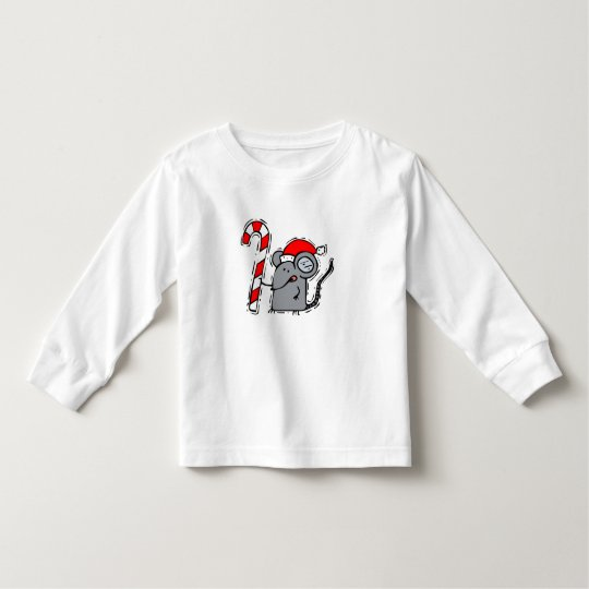 Mouse Candy Cane Toddler T-shirt