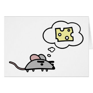 Mouse & Cheese Card