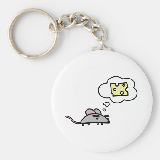 Mouse & Cheese Keychain