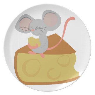 Mouse & Cheese Plate
