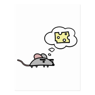 Mouse & Cheese Postcard