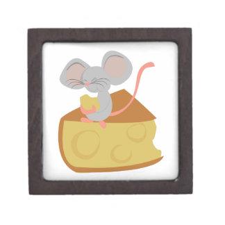Mouse & Cheese Premium Jewelry Box