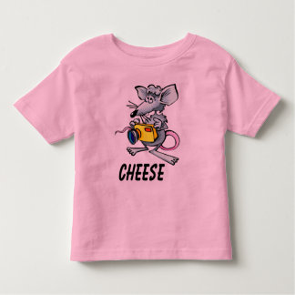 Mouse Cheese Toddler T-shirt