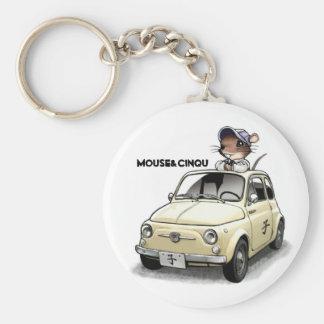 Mouse&Cinqu - Keychain- Keychain