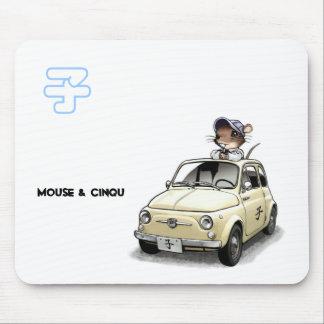 Mouse&Cinqu - Mousepad- Mouse Pad