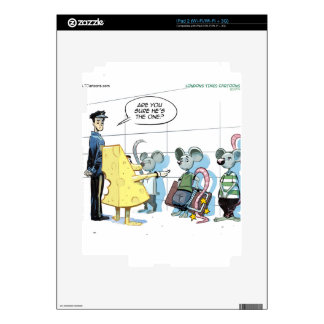Mouse Crimes by Rick London Funny Decal For iPad 2