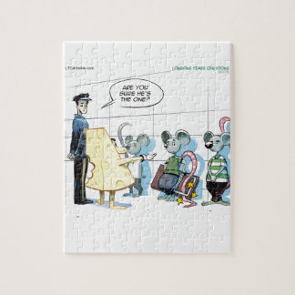 Mouse Crimes by Rick London Funny Puzzle