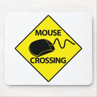 Mouse Crossing - mousepad