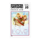 mouse cupid Love Stamp