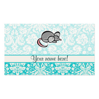 Mouse; Cute Business Card