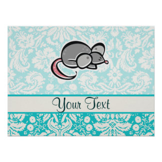 Mouse Cute Posters