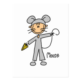 Mouse Dress Up T-shirts and Gifts Postcard