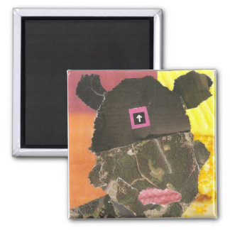 Mouse Ears 3 2 Inch Square Magnet