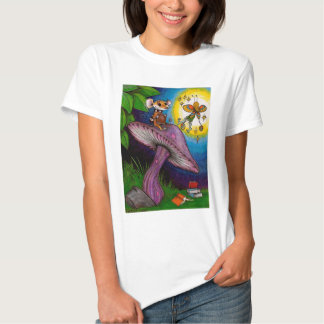 Mouse & Fairy on a Mushroom T-Shirt