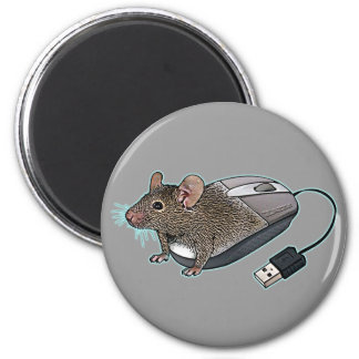 Mouse from Zazzle 2 Inch Round Magnet