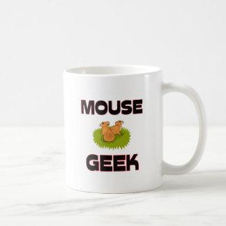 Mouse Geek Classic White Coffee Mug