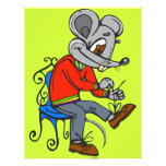 Mouse Getting Dressed Full Color Flyer