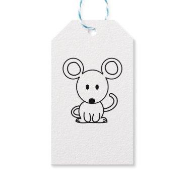 jasmineflynn Mouse Gift Tags