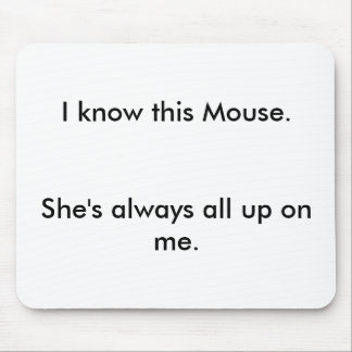 Mouse Girlfriend Mouse Pad