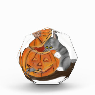 Mouse Hide and Seek in a Carved Pumpkin Award