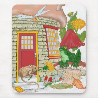Mouse House Mouse Pad