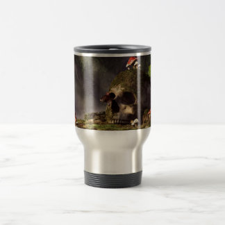 Mouse In A Skull 15 Oz Stainless Steel Travel Mug