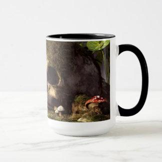Mouse In A Skull Mug