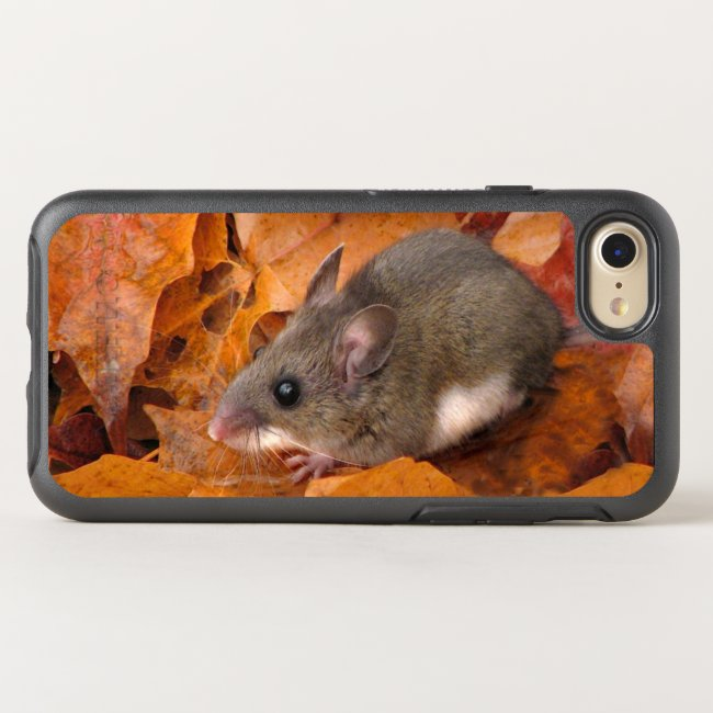 Mouse in Autumn Foliage OtterBox iPhone X Case