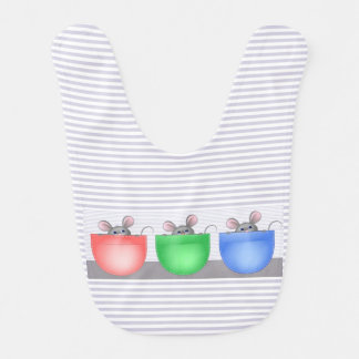 Mouse in Pocket Baby Bib