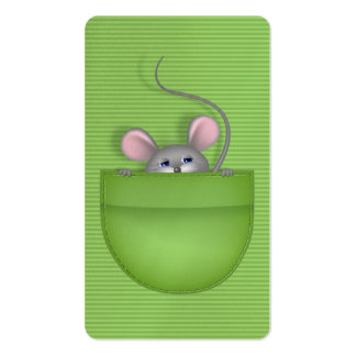 Mouse in Pocket Business Card