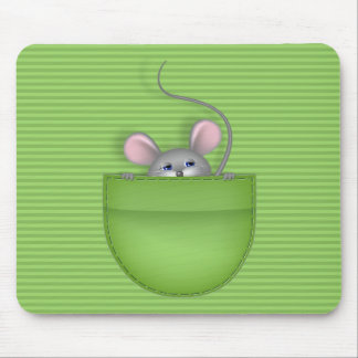 Mouse in Pocket Mousepad